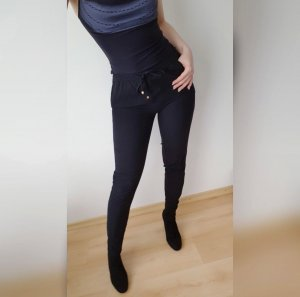 Only Peg Top Trousers black-gold-colored