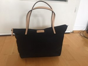 Kate Spade Bowling Bag black nylon