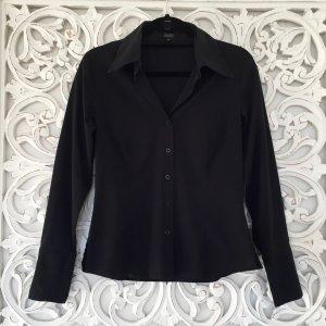 schwarze klassische Bluse von HALLHUBER * Gr. 38