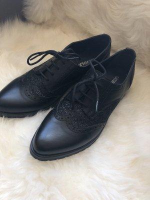 Catwalk Zapatos formales negro Imitación de cuero