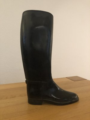 Wellies black polyvinyl chloride
