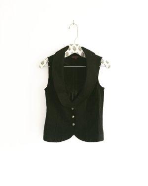 schwarze klassische weste / vintage / waist coat / black / classy
