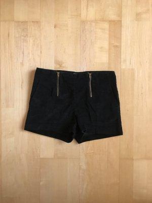 Schwarze Kort- Jeans