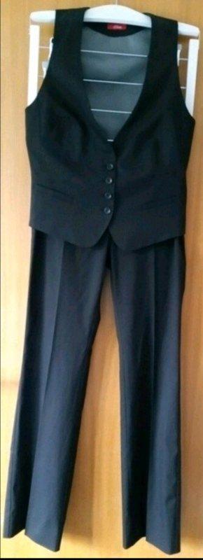 Schwarze Kostümkombination s.Oliver Gr. 36/38