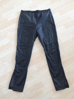 Schwarze Kunstlederhose von H&M