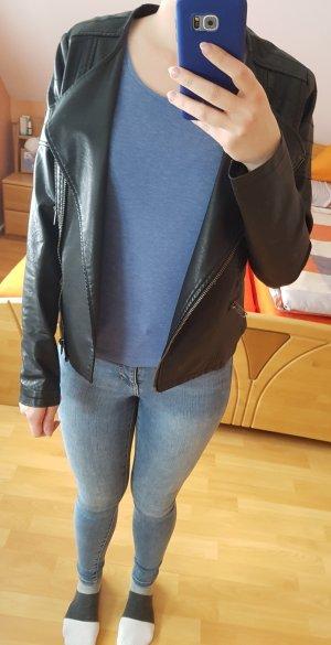 Esmara Faux Leather Jacket black