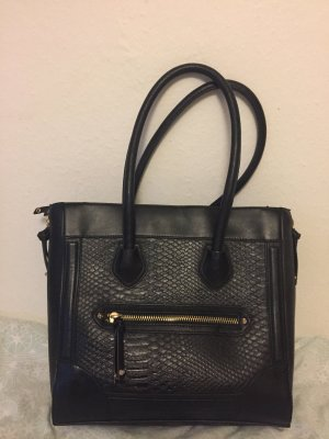 Aldo Carry Bag black-gold-colored