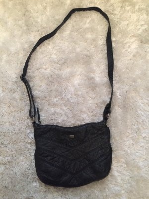 Schwarze Kunstledertasche von Roxy