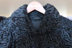Chaqueta de piel negro Piel