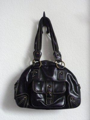 schwarze L.Credi Tasche