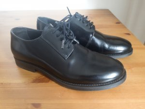 COS Derby black imitation leather