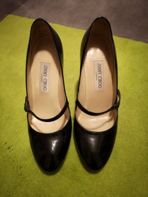 Jimmy Choo Tacones Mary Jane negro