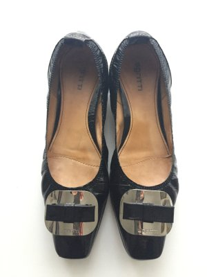 Gritti Slip-on Shoes black leather