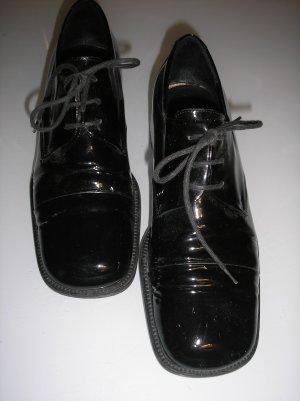 Marc O'Polo Lace Shoes black leather