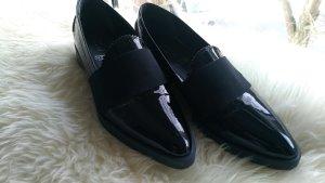 5th Avenue Low Shoes black leather