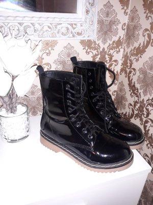 Tally Weijl Bottines à lacets noir
