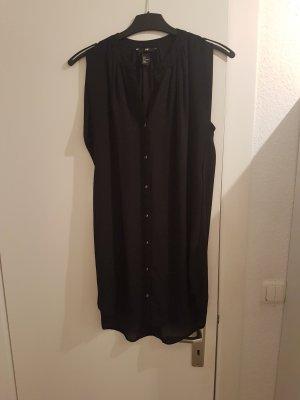 schwarze längere Bluse
