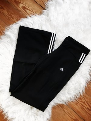 Schwarze Lange Adidas Hose