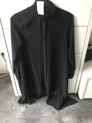 Schwarze lange Bluse
