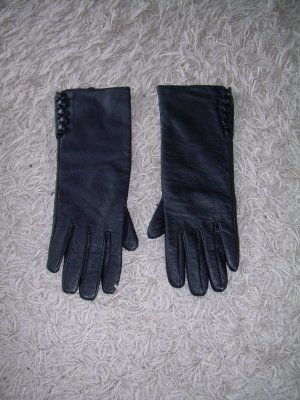 Orsay Leather Gloves black leather