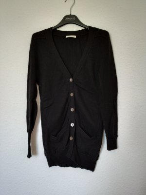 (The Mercer) NY Cardigan noir cachemire