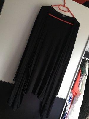 Schwarze lange Strick Jacke dünn