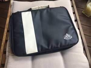 Vaude borsa ventiquattrore nero-bianco