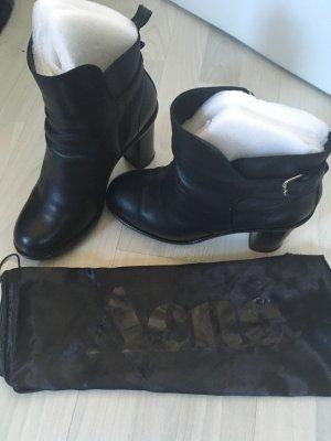 Acne Boots black