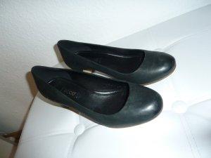 Schwarze Leder Schuhe von Ecco