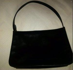 Schwarze Lederhandtasche von ESPRIT