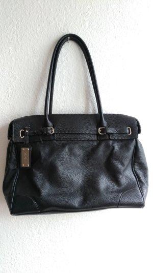 Schwarze Lederhandtasche von Picard