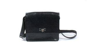 Schwarze Lederhandtasche von Twist & Tango