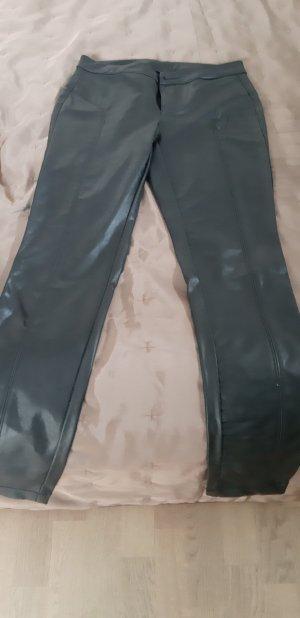 100 Pantalon en cuir noir