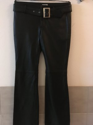 Mia Leather Trousers black leather