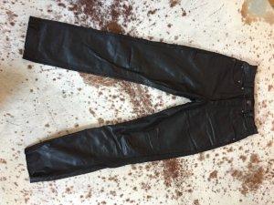 Schwarze Lederhose von Dakota