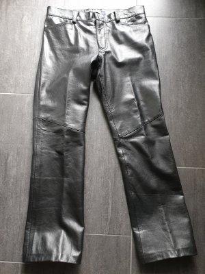 Gap Pantalone in pelle nero Pelle