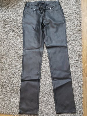 Melrose Leather Trousers black