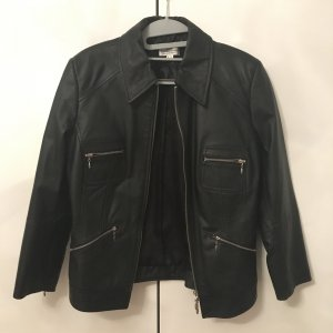 Best Connections Leather Jacket black
