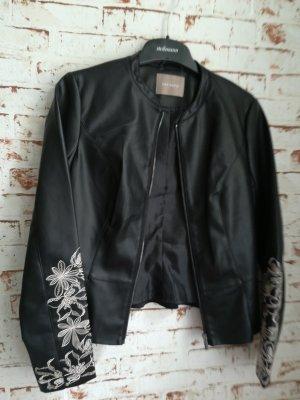 Orsay Leren jurk zwart
