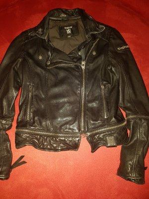 Schwarze Lederjacke von Tigha XS !