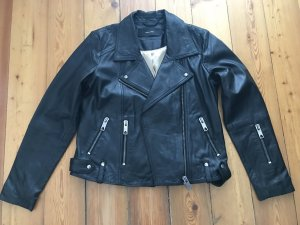 Schwarze Lederjacke von Vero Moda