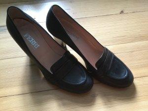 Ferri Italia Chaussure décontractée noir cuir