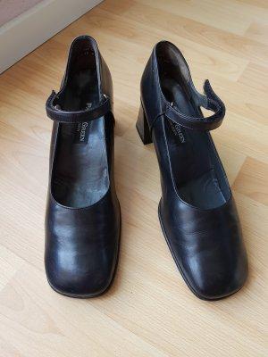 schwarze Lederpumps von Paul Green, Gr.38,5 (5)