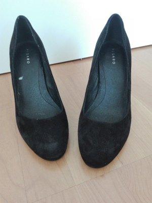 Schwarze Lederpumps von Pesaro High heels