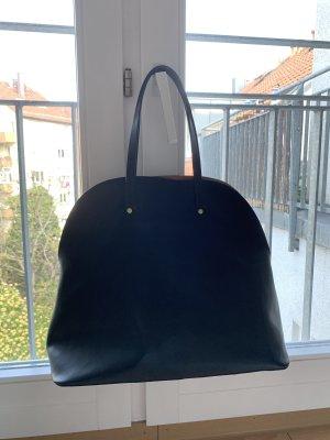 Zara Handbag black-gold-colored