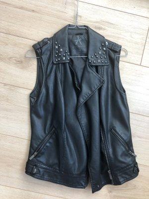 Primark Leather Vest black