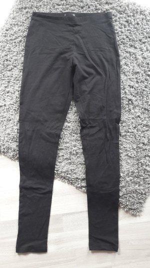 schwarze Legging von H&m