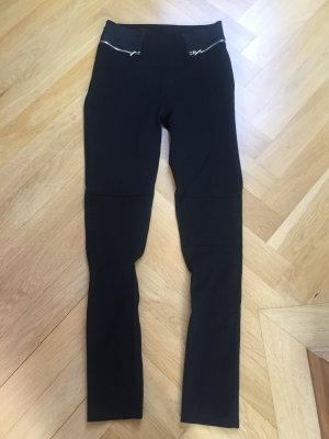 Zara Basic Leggings negro