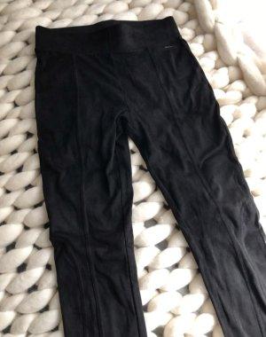 Schwarze Leggings Bench Wildleder Imitat
