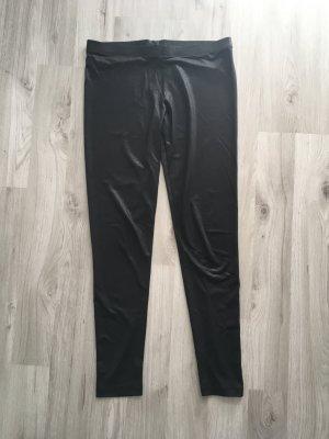 schwarze Leggings glänzend - MANGO